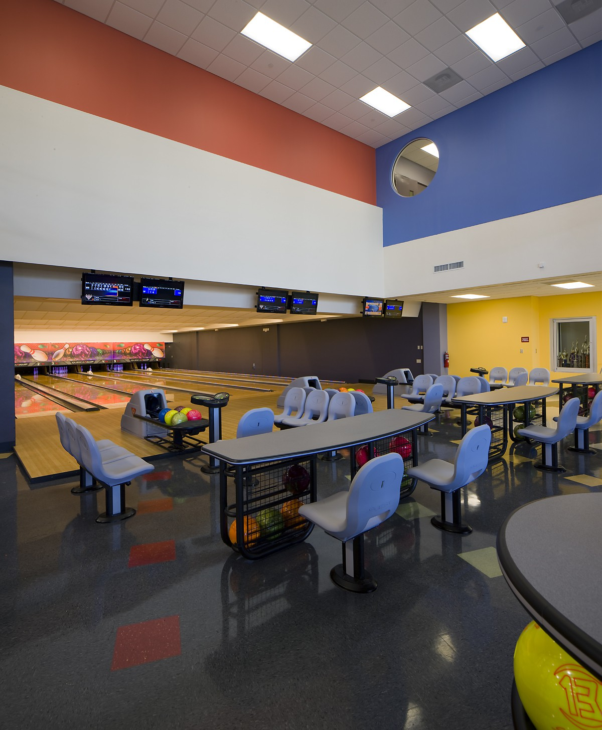 Bowling Alley - Scott Rakow Youth Center Renovation